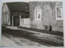 1956 - vorn Haus Dirschbacherhinten Haus Zehe