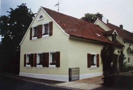 1993 Dorferneuerung, Gehwege Ausfahrt aus Stein