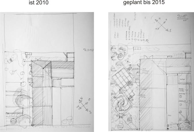 Knetzgau-Hainert-J.-v.-Wolnberg-Str. 54 - Gartenplanung 2010 bis 1015