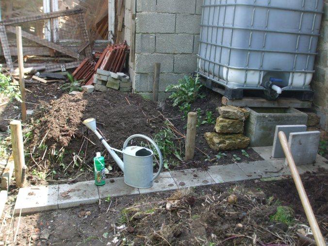 der mai ist gekommen regenwasser kompost rankhilfen garten tr ume und r ume. Black Bedroom Furniture Sets. Home Design Ideas
